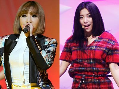 Bersahabat Dekat, Minzy 2NE1 Berikan Kejutan Ulang Tahun untuk Luna f(x)