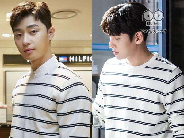 Sweater Rajut Kembar Ji Chang Wook dan Park Seo Joon, Who Wore It Better?