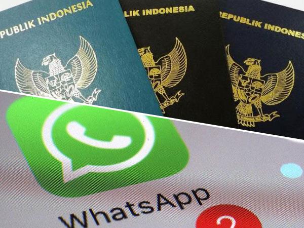 Mulai Hari Ini Daftar Paspor Dipermudah Lewat Layanan via Whatsapp!