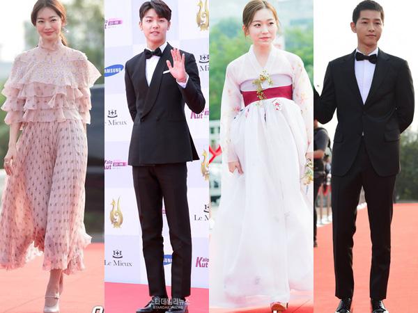 Gaya Classy dan Anggun Para Aktor Ternama di Red Carpet 'Seoul Drama Awards 2016'