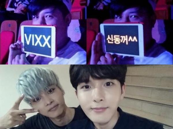 Tunjukkan Dukungan, Shindong dan Ryeowook SuJu Hadir di Konser Tur Dunia VIXX