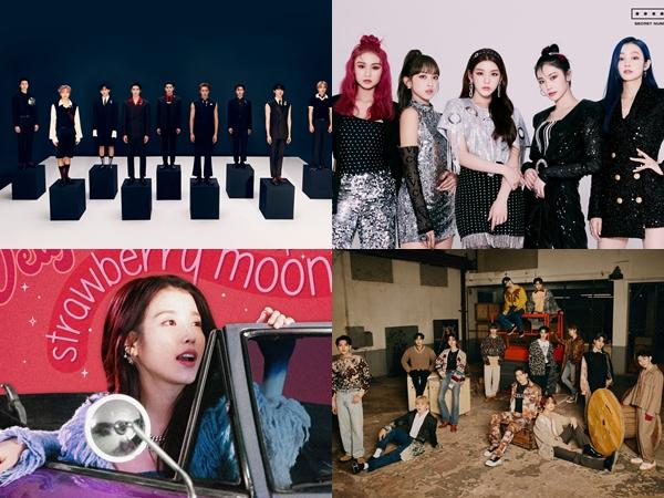 Deretan Idol K-Pop yang Comeback di Bulan Oktober (Part 2)