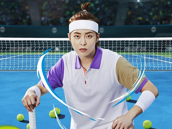 Xiumin EXO Siap Jadi Raja Tennis di Web Variety Show Baru