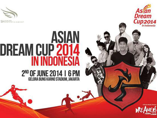 Besok, Promotor Umumkan Line Up Final Asian Dream Cup 2014!