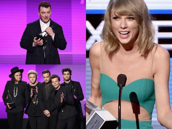 Ini Daftar Lengkap Pemenang American Music Awards 2014!