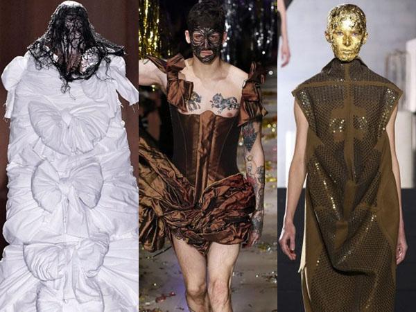 Inilah Gaya Fashion Teraneh di Paris Fashion Week F/W 2015