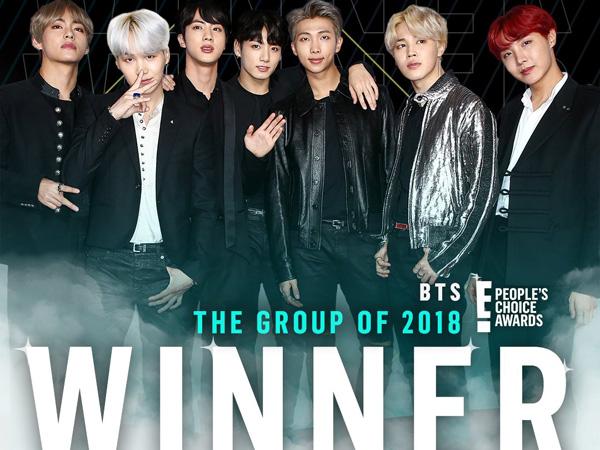 Congrats! BTS Sabet 4 Penghargaan di 'People's Choice Awards 2018'