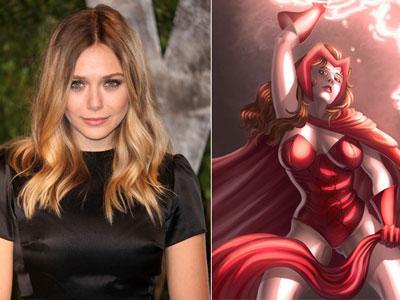 Elizabeth Olsen Resmi Bergabung dalam The Avengers 2