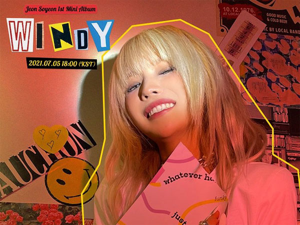 Soyeon (G)I-DLE Puncaki Chart iTunes Top Albums dengan 'Windy'