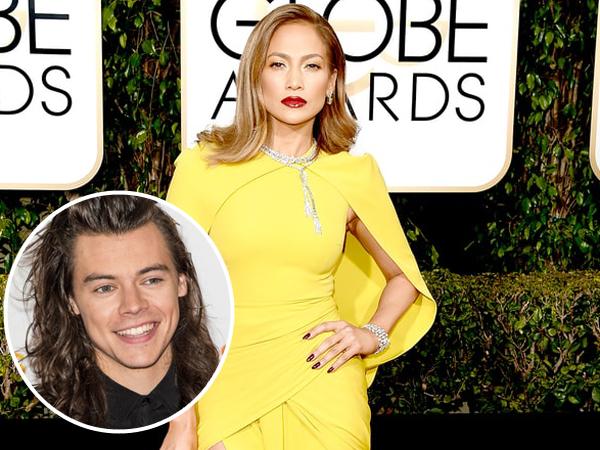 Tertarik dengan Harry Styles, J-Lo Ogah Dibilang Suka Kencani Pria Lebih Muda