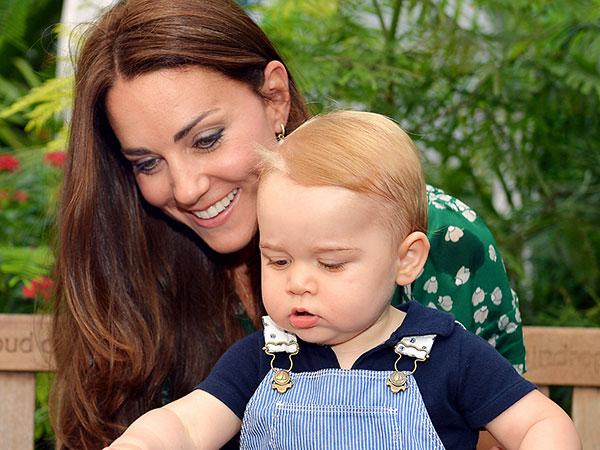 Jelang Melahirkan, Kate Middleton Sering 'Kencan' dengan Pangeran George
