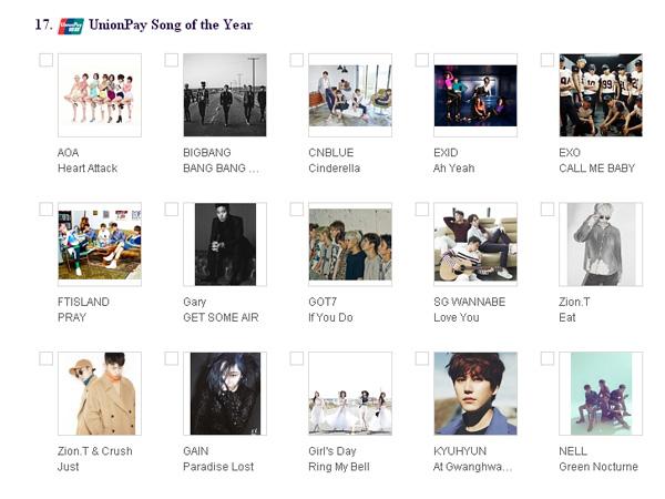 Voting Resmi Dibuka, Ini Dia Daftar Nominasi Mnet Asian Music Awards (MAMA) 2015!