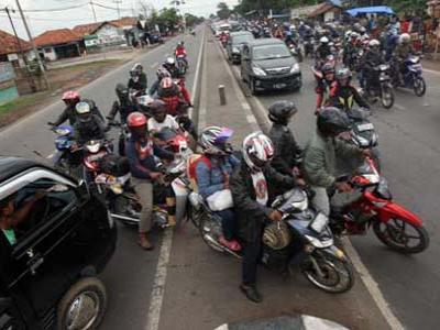 Cara Aman Mudik Dengan Sepeda Motor