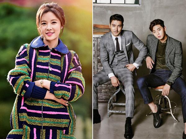 Park Seo Joon VS Choi Siwon, Mana yang Lebih Buat Hwang Jung Eum Nyaman Saat Akting?