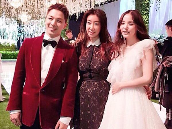 Terungkap Taeyang dan Min Hyo Rin Tidak Terima 'Amplop' di Pernikahannya
