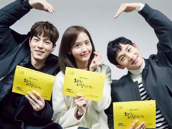 YoonA, Siwan, & Hong Jong Hyun Tunjukkan Keceriaan di Sesi Baca Naskah Drama 'The King Loves'