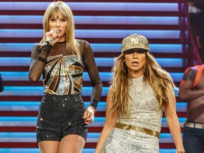 Taylor Swift Bantah Kalau akan Berkolaborasi dengan J-Lo!
