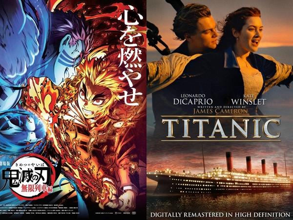 'Demon Slayer: Mugen Train' Geser 'Titanic' Jadi Film Terlaris Kedua di Jepang