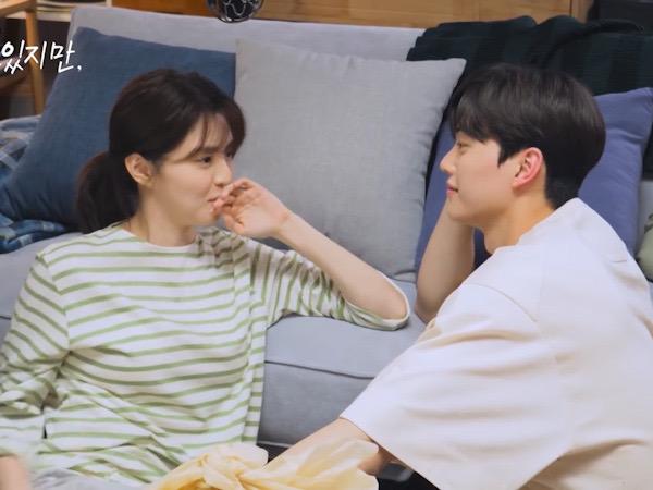 Adegan Ciuman Song Kang dan Han So Hee Ini di Luar Arahan Sutradara