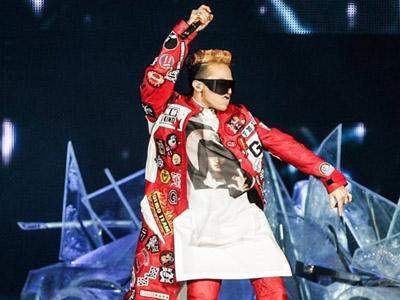 Duh, G-Dragon Alami Cedera Saat Konser Solo di Jepang
