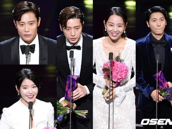 Dominasi 'Mr. Sunshine', Inilah Daftar Lengkap Pemenang 'APAN Star Awards 2018'