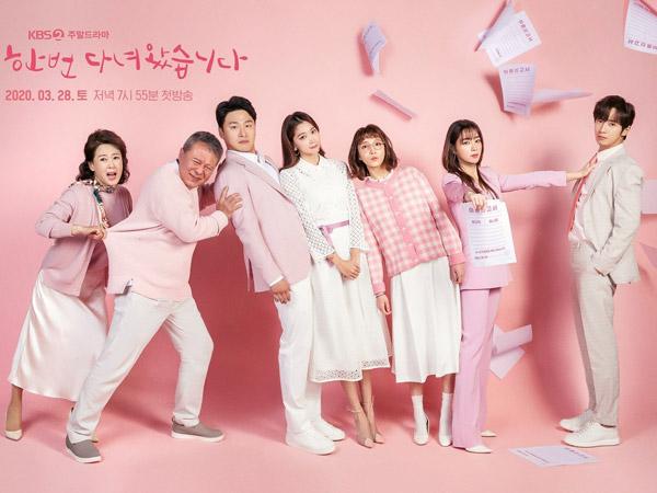 Lee Min Jung Ingin Cerai dari Lee Sang Yeob di Poster Drama Baru KBS