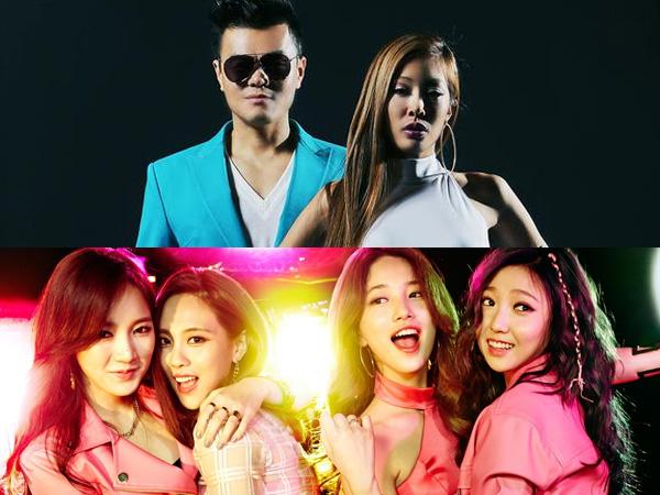 Lagunya Digeser oleh JYP di Chart Musik, miss A 'Protes'!