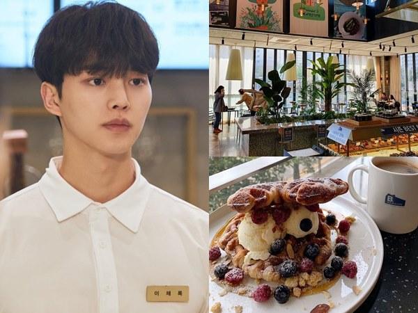 Icip Makanan Café B. Mansion, Tempat Kerja Song Kang di Drama Navillera