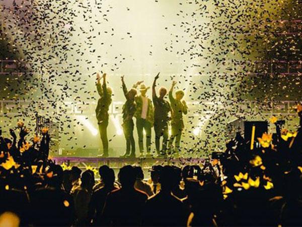 Big Bang, TVXQ, dan SHINee Masuk Peringkat 10 Besar Konser Terlaris di Jepang!