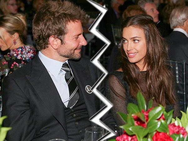 Sepuluh Bulan Pacaran, Bradley Cooper dan Irina Shayk Putus?