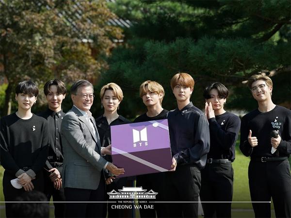 Presiden Moon Jae In Tunjuk BTS Sebagai Utusan Khusus Diplomasi Publik