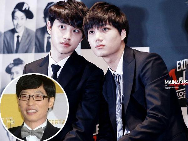 D.O Anggap Yoo Jae Suk Bisa Gantikan Posisi Kai di EXO?
