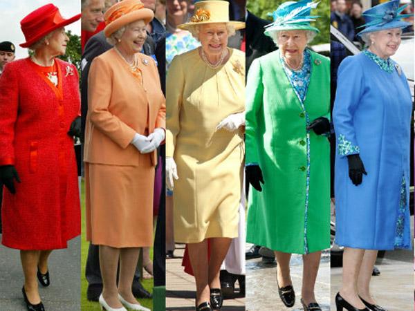 Alasan Mengapa Ratu Elizabeth Selalu Memakai Baju Warna Cerah