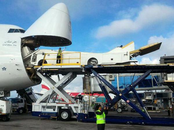 Spektakuler, Intip Eskalator Pesawat Yang Akan Digunakan Raja Arab saat Injakkan Kaki di Indonesia