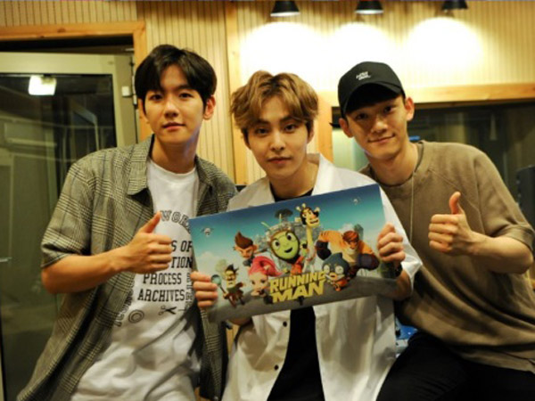 EXO-CBX Ditunjuk Nyanyikan Theme Song 'Running Man' Versi Animasi!