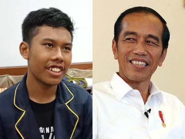 Sosok Febrian, Remaja yang Viral Karena Suaranya Mirip Jokowi