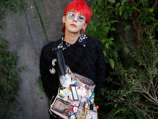 Datang ke Paris Fashion Week, G-Dragon Bertemu Sosok Tak Terduga!