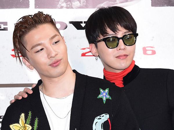 G-Dragon dan Taeyang Akan Kehilangan Nama Panggung Jika Hengkang dari YG?