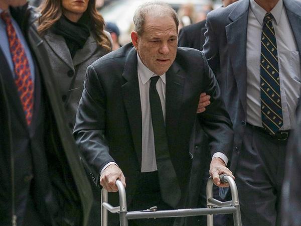 Positif Corona, Produser Hollywood Predator Seks Harvey Weinstein Diisolasi di Penjara