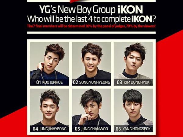YG Entertainment Rilis Poster Informasi Tata Cara Voting untuk Memilih Member iKON