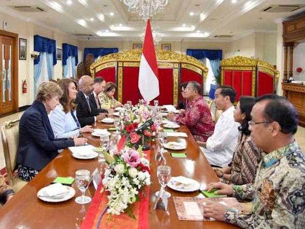 Sempat Bertemu Jokowi, Ini Bantuan yang Ditawarkan Bill-Melinda Gates Foundation untuk Indonesia