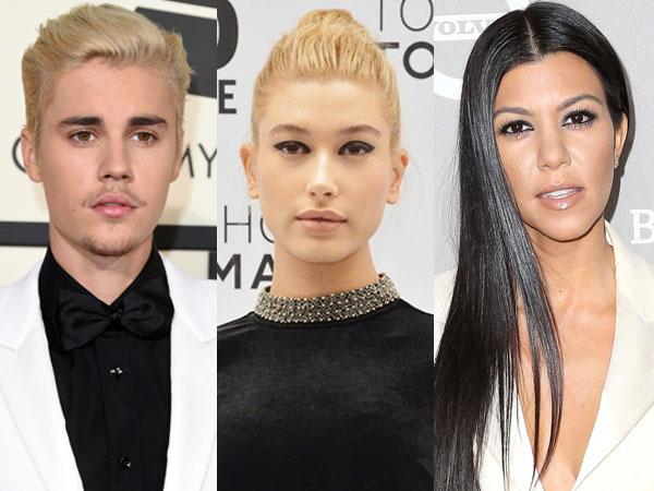 Pernah Punya Hubungan Spesial, Justin Bieber Undang Hailey dan Kourtney di Ultah Ke-22?