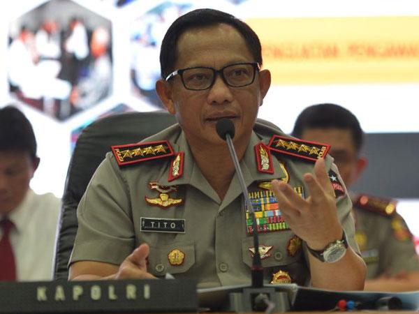Kapolri Beri Penghargaan ke Anggota Polisi yang Berhasil Ungkap Perampokan Sadis Pulomas
