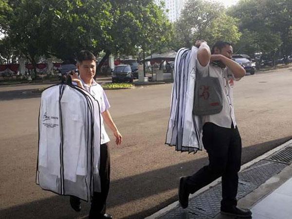 Yang Dibawa Ke Istana di Detik-detik Menuju Pengumuman Susunan Kabinet Jokowi-Ma'ruf