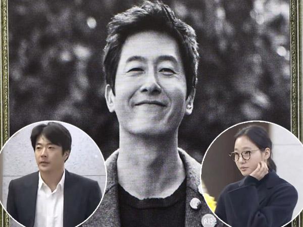 Hyun Bin Hingga Kim Go Eun Juga Terlihat Beri Penghormatan Terakhir Untuk Kim Joo Hyuk