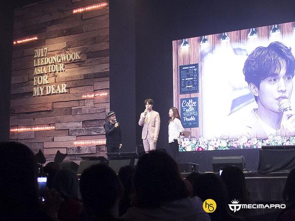 Serunya Lee Dong Wook Reka Ulang Adegan Drama Bareng Fans di Fanmeeting Jakarta