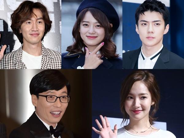 Ada Lee Kwang Soo Hingga Sehun EXO, Intip Foto Bocoran Proses Syuting Variety Show Pertama Netflix!