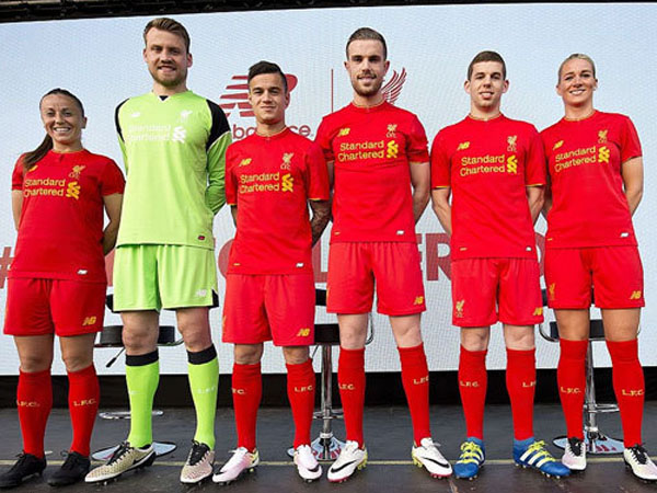 Tampil Lebih Fresh, Begini Warna Jersey Baru Liverpool Musim 2016-2017