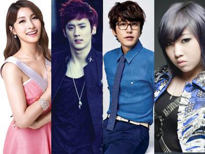 Kyuhyun SuJu, Minzy 2NE1, Gyuri Kara & Chunji Teen Top Akan Kenalkan Ibu Mereka Di 'Mamma Mia'