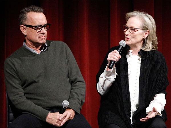 Meryl Streep Terkejut Tom Hanks Belum Pernah Masuk Nominasi Piala Oscar!